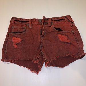 NEW! Free People Denim Shorts